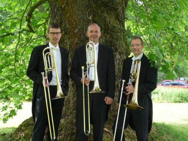Posaunisten der Vogtlandphilharmonie Greiz/ Reichenbach: Tenorposaune Helmut Voigt (HV)-T1, Tenorposaune HV-T3, Bassposaune HV-B2