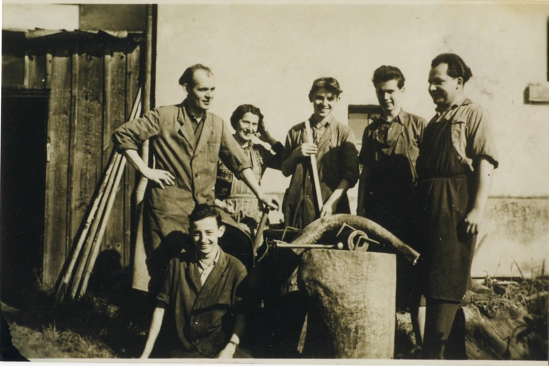 1956 - Biegen Tubaanstoß