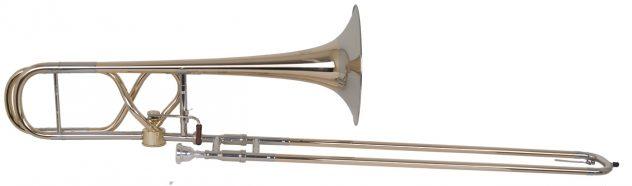 Helmut Voigt Tenor trombone HV-T2 med Hagmannventil, åpen Byggemåtei 8-Form.