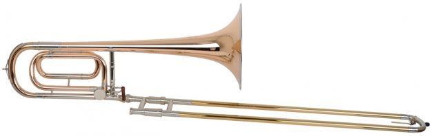 Helmut Voigt Tenor trombone HV-T3Tradisjonell byggemåte, Rødmessing, Gullmessingyttertrekk