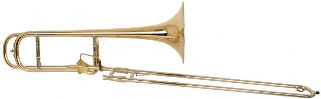 Helmut Voigt Tenor trombone HV-T1 med Thayerventil, åpenbyggemåte